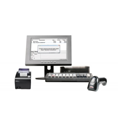 POS-система АТОЛ Ритейл ЕГАИС Pro [FPrint-55 ЕНВД, Frontol 5 Торговля ЕГАИС, NFD10, SJ-1088, КВ-60