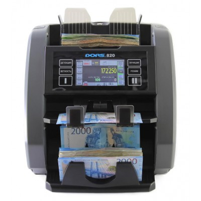 Счетчик банкнот DORS 820F