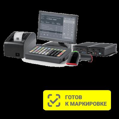 POS-комплект АТОЛ Mark Pro (АТОЛ 20Ф без ФН, Windows 10 IoT, Frontol 6, NFD10 PRO, LM10, KB-50, без ридера, 2D-сканер Impulse 12)