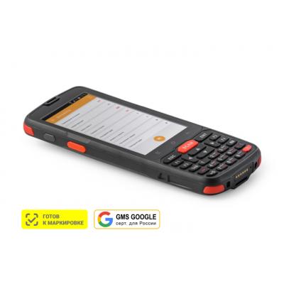 """Терминал сбора данных (ТСД) АТОЛ Smart.Slim Plus полный (4"""", Android 10 с GMS, MT6761D, 3Gb/32Gb, 2D E3, Wi-Fi, BT, NFC, 4G, GPS, Camera, БП, IP65, 4500 mAh)"""