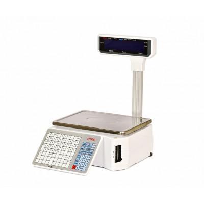 Весы с печатью этикеток АТОЛ LS5X (со стойкой, лицензия FDU)