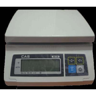 Весы порционные CAS SW-05