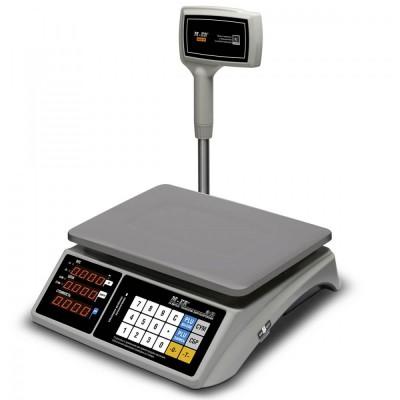 "Торговые электронные весы M-ER 328 AC LED ""TOUCH-M"" RS-232, USB"