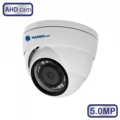 Купольная камера MT-DG5.0AHD20KN (3.6м)