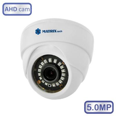 Купольная камера MT-DW5.0AHD20KN (3.6мм)