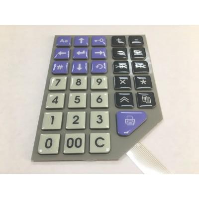 Клавиатура малая SM807.36.000СБ v. 4.5 для весов Штрих Принт Ф